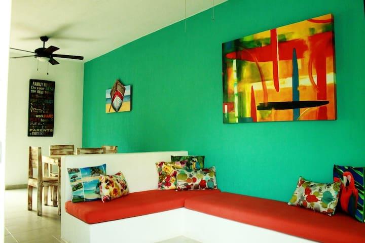 Privada y cómoda casa completamente equipada para5
