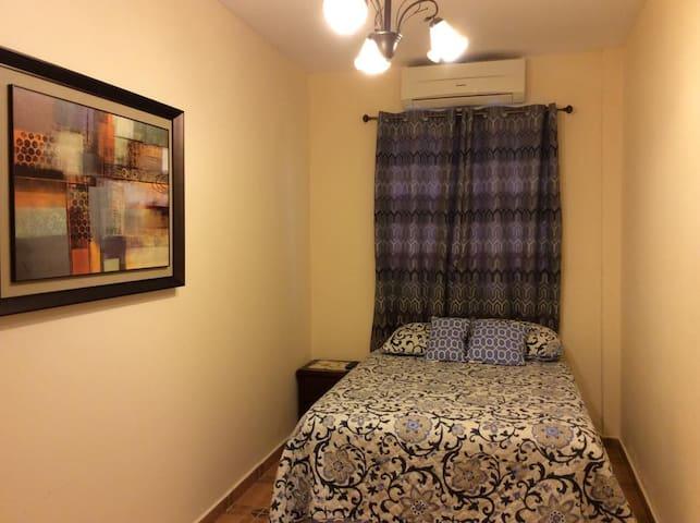 Habitación No.1 (Una cama doble + 1 sofá-cama).