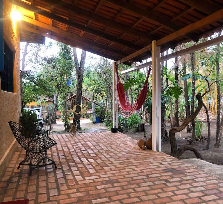 Casa Mangaba - casa inteira na Vila de São Jorge