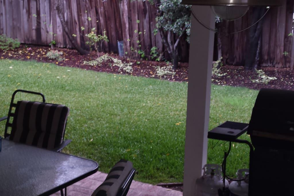 Back patio/BBQ