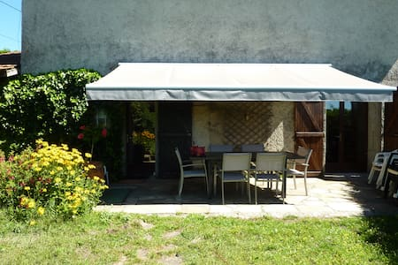 Maison à la campagne, bien équipée, Nord Isère - Saint-Agnin-sur-Bion