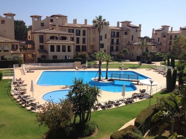 Private complex apartment near sea club and golf - Llucmajor - Apartemen