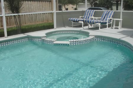Hampton Lakes 7/5 Pool Home property, fully furnished, with full kitchen, and all linens and towels - DAVENPORT - House