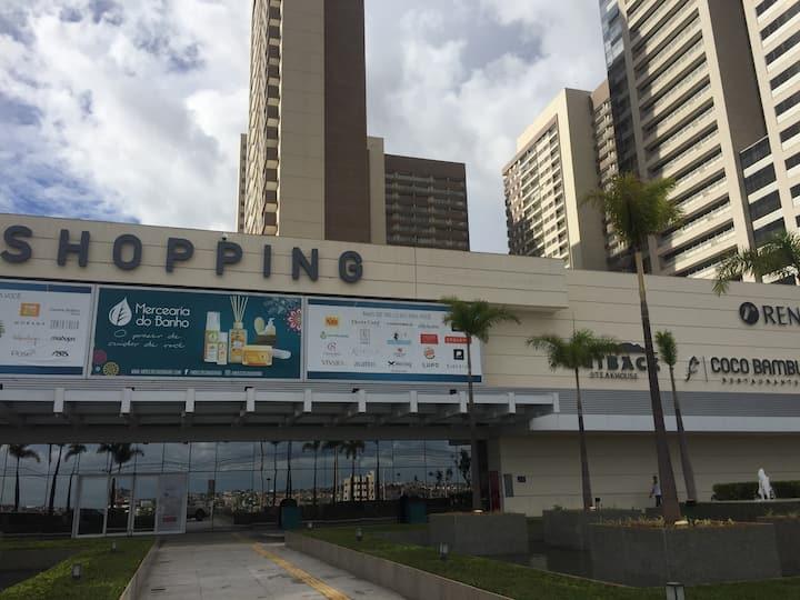 Flat completo no DF Century Plaza - Águas Claras