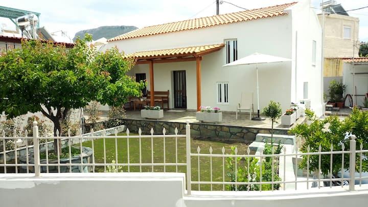 Sea View and Green Garden House