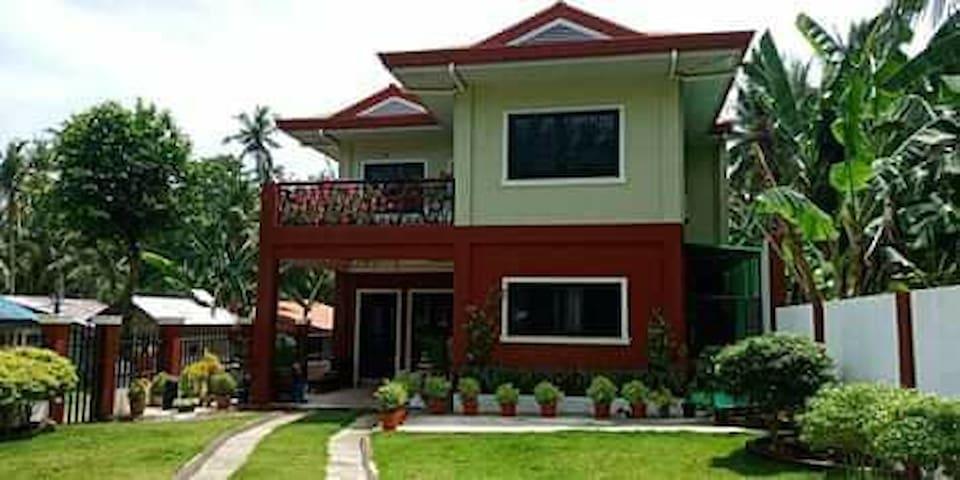 Tejero's House. Camotes, Island