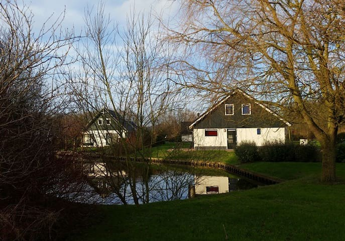 Nice holidayhome at the waterfront. - Gasselternijveen - Kabin
