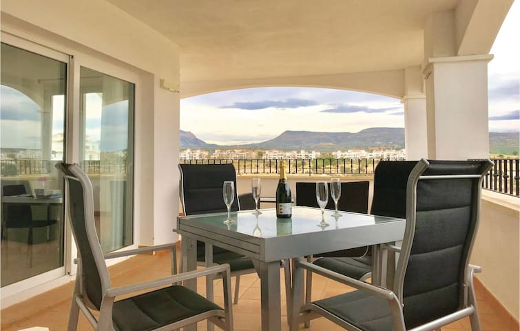 Holiday apartment with 2 bedrooms on 51m² in Murcia