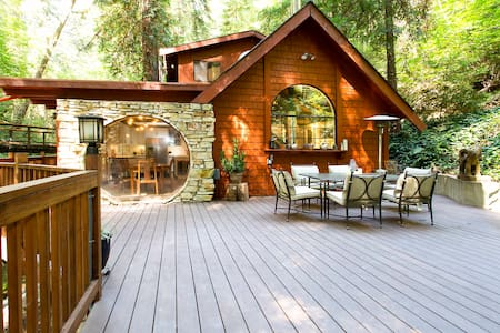 Hidden Creek Napa - Secluded House in the Redwoods - Σπίτι