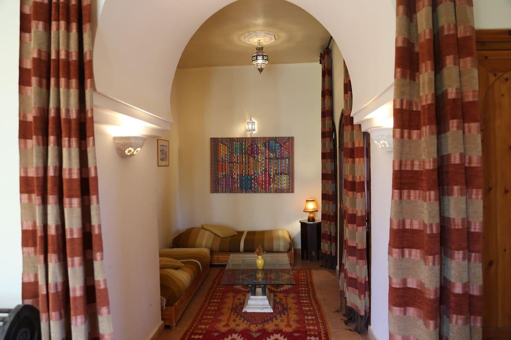 Suite Wulfenite, salon