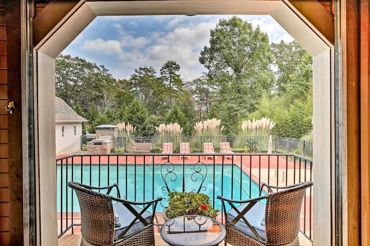 Lake Allatoona Area Studio w/ Pool and Views!