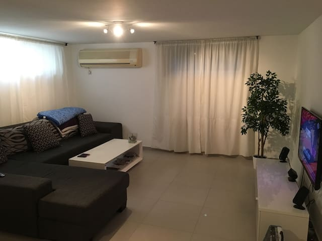 Private apartment (100 mr)  Spacious and cosy