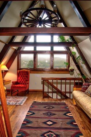 Bedroom 3 (the den). Full size futon bed.