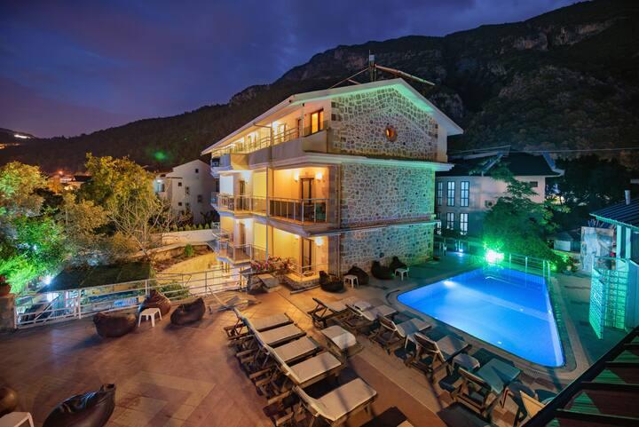 Seyir Beach Hotel Oludeniz Twin/Double Room B&B