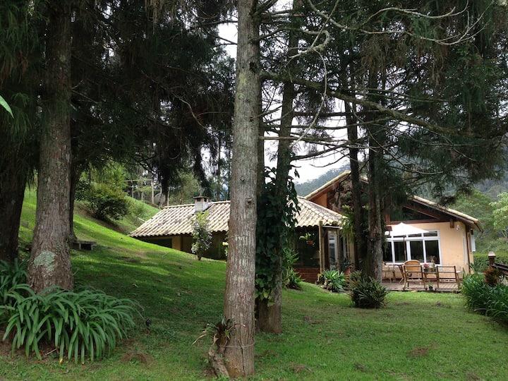 Casa na montanha em Mury