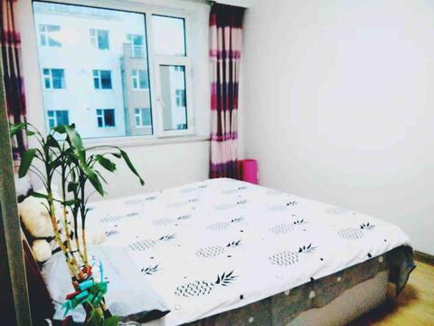 长白山北坡繁华街区整套日租温馨家庭房,可住2-3人