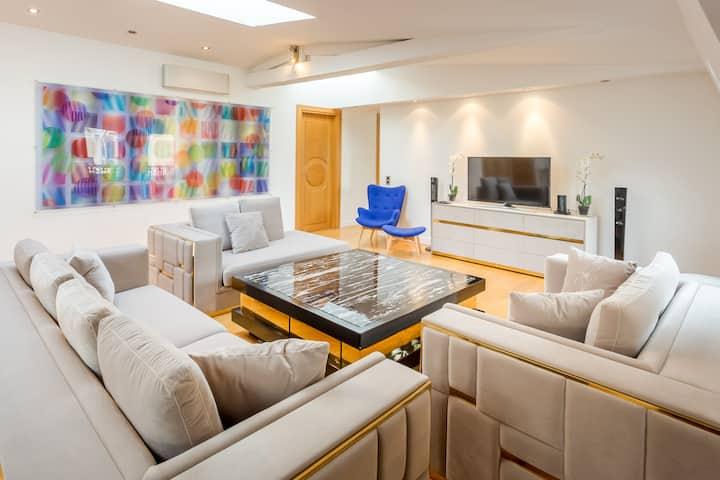 Amazing fendi luxury flat near  Arc de Triomphe 6P
