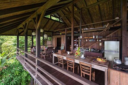 OsaMagic House boarding Prim Forest - Savegre