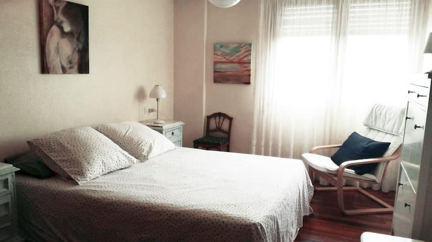 Bright room in San Sebastian