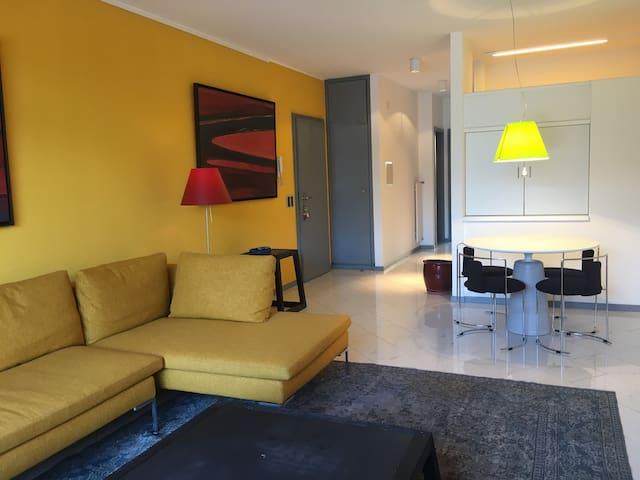 Splendido appartamento centrale e fronte lago - Paradiso - Daire