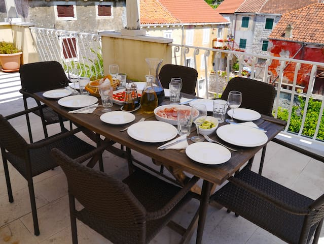 A perfect spot for alfresco dining