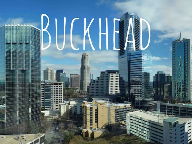 Buckhead Luxury with Wifi & gym, Close to Downtown
