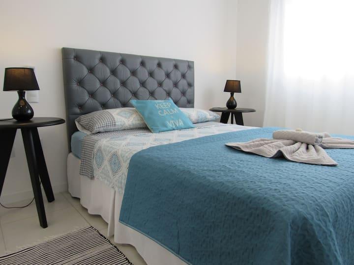 Apartamento TOP em Canasvieiras, novo com piscina!