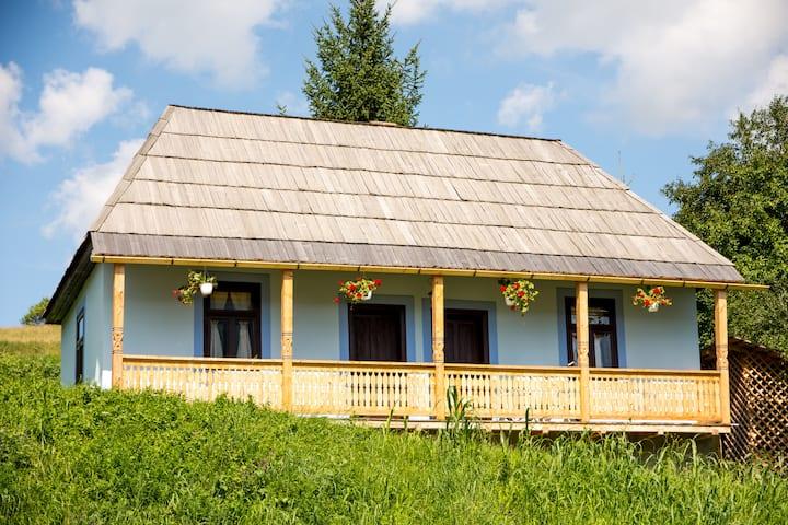 Blue Room Csango cottage