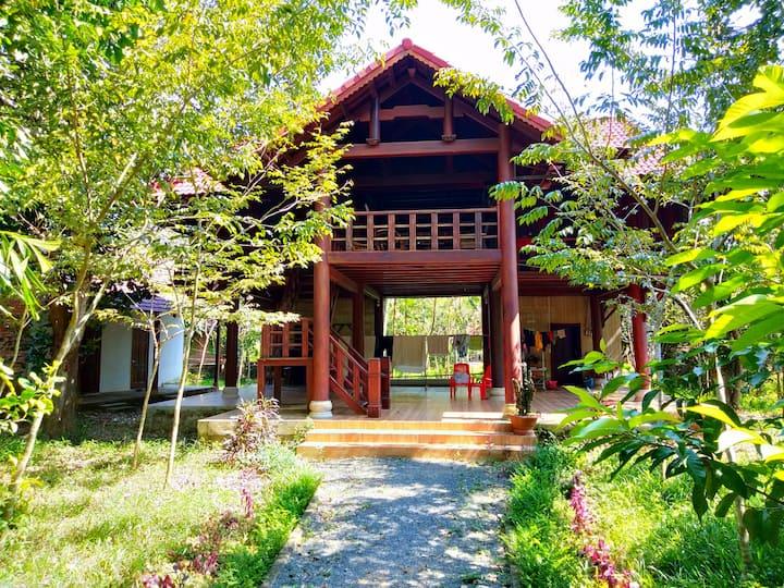 Green Hope lodge Cat Tien village