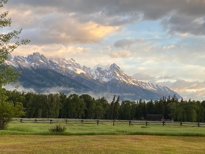 Whispers of The Wild with Front Row Teton Views