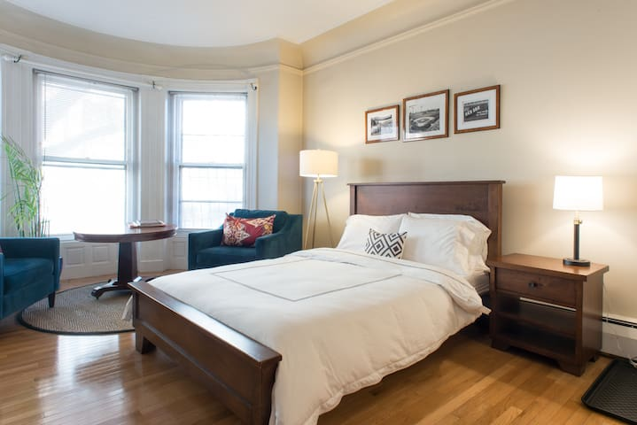 Classic Boston Back Bay Designer Studio