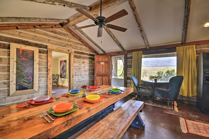 NEW! Hundred-Year-Old Shell Valley Settlers Cabin!