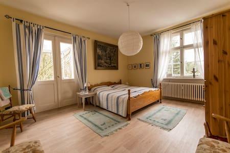 Zimmer mit Balkon, Garten und Pool - Forst (Lausitz) - Oda + Kahvaltı
