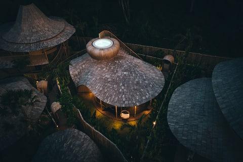 小屋-巴厘岛生态六号竹屋别墅