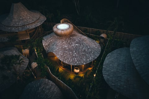 Hut - Bamboo Villa in Eco Six Bali
