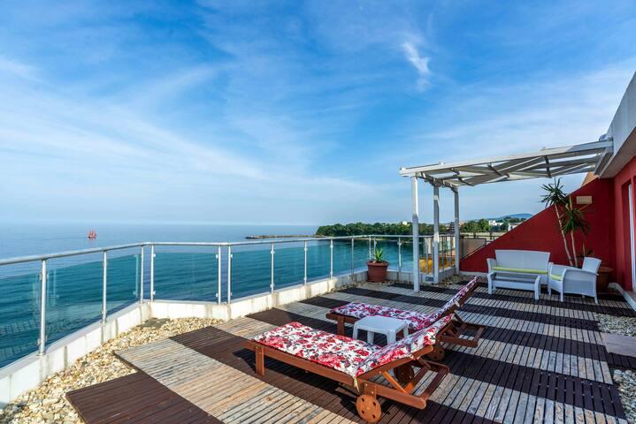VIP apartment - jakuzi and sea view, Hotel Sunday