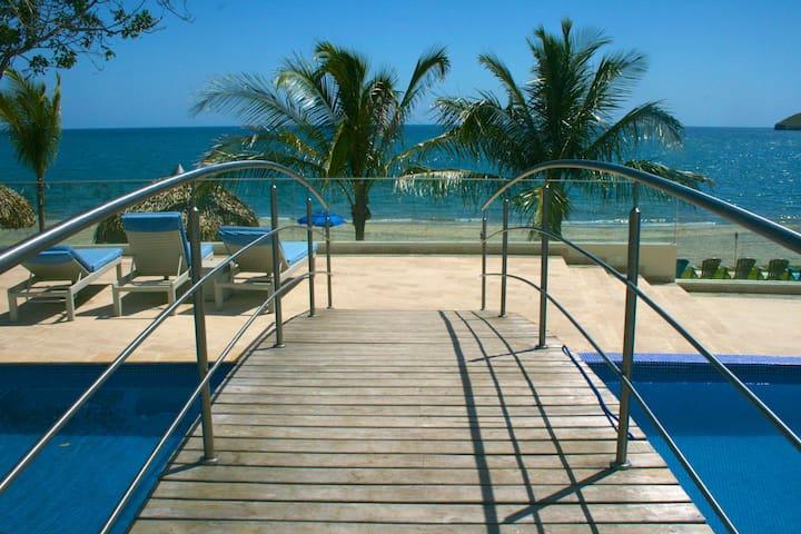 Beautiful Beach front condo in Santa Clara - Rio Hato - Appartement
