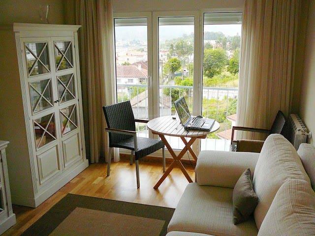 Penthouse: Balcony over Pontevedra - Poio