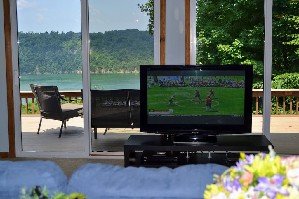 World cup in the living room