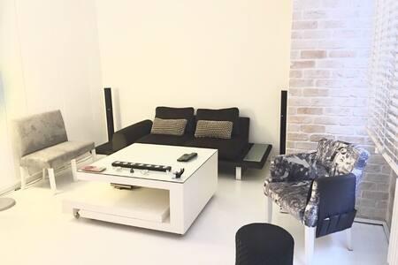 Central, Modern and Large Flat With Cozy Garden - Şişli - 公寓