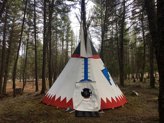 "A tipi name ""Chief Joseph"" montana"