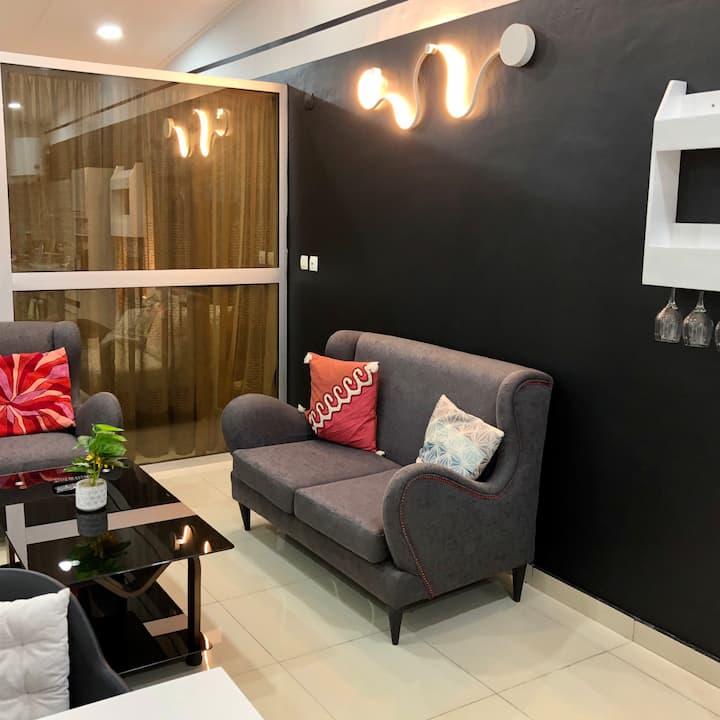 Mavie's Home : grand studio, chic et fonctionnel