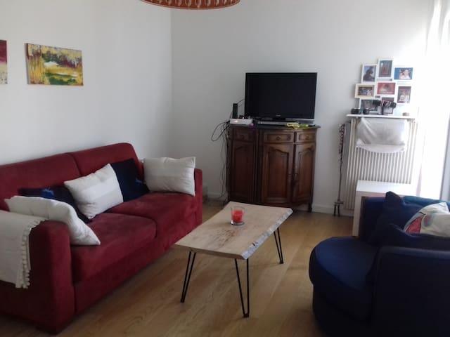 Appartement 90 m² proche de Lyon