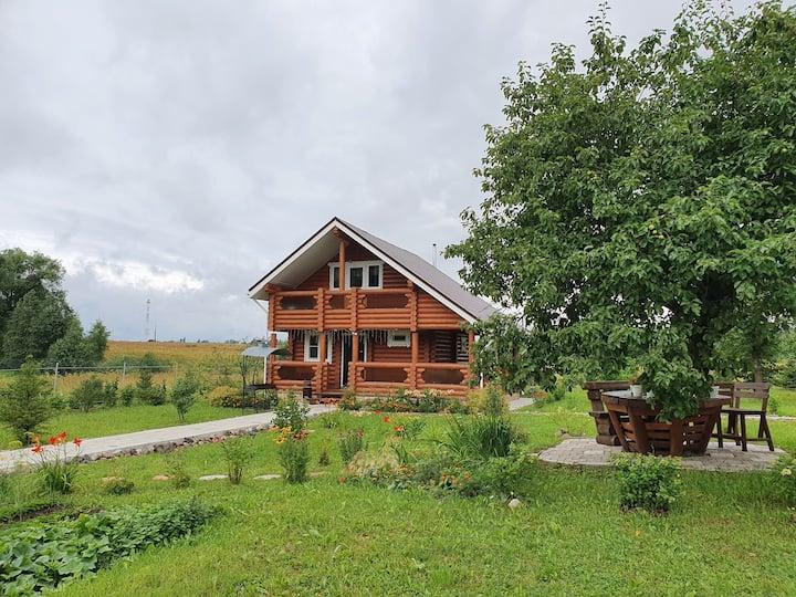 Дом с Русской баней на дровах