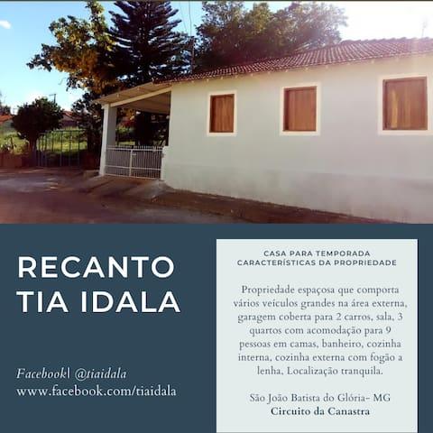 Casa para temporada TIA IDALA