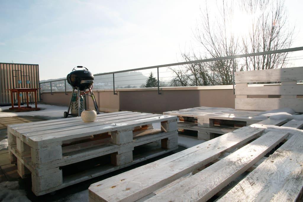 Terrasse - terrace