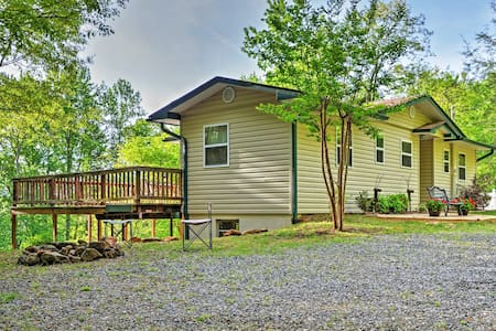 Peaceful 3BR Hiawassee Cabin - Hiawassee