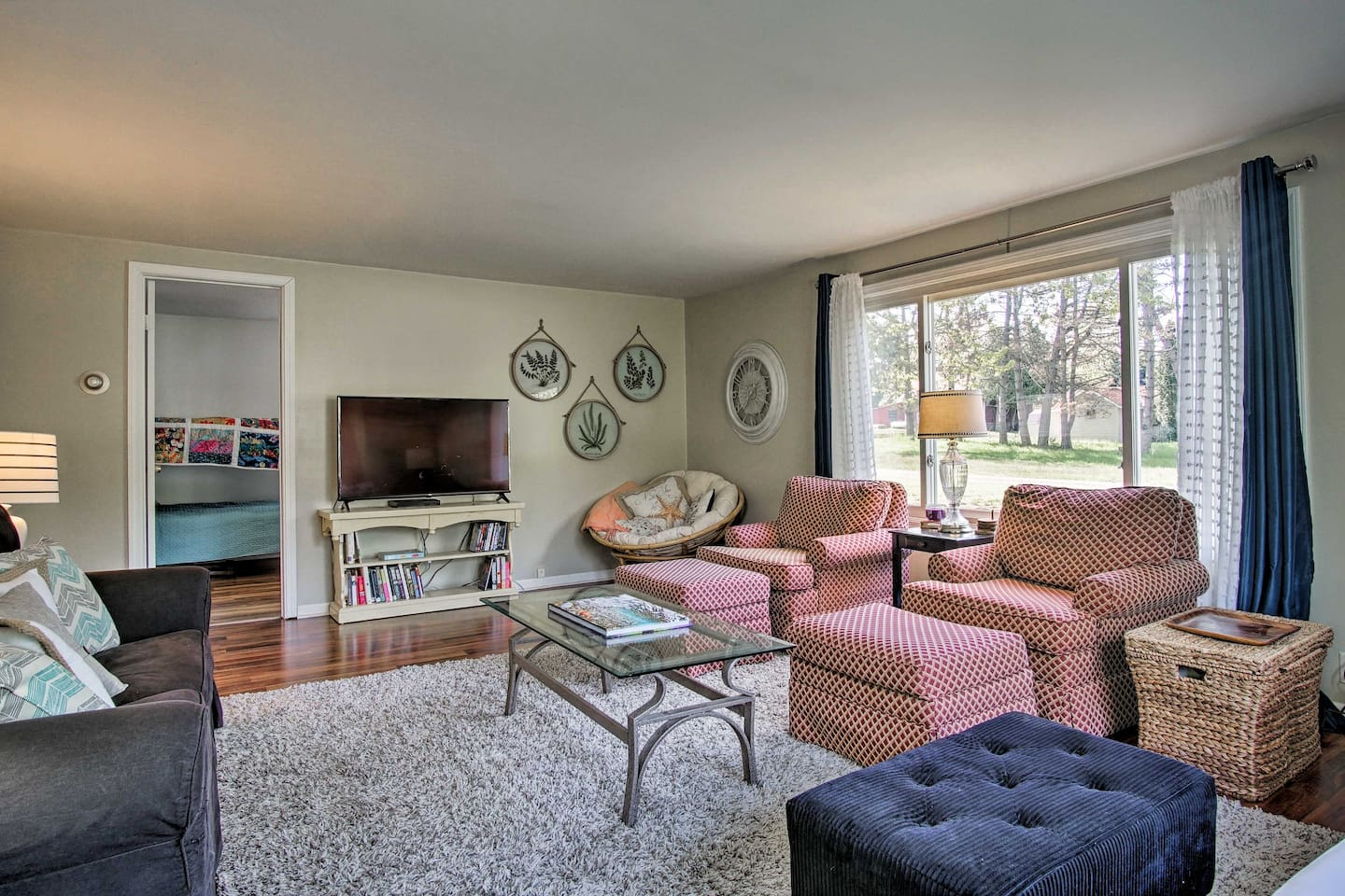 Your family Lake Michigan getaway begins by booking this updated vacation home.