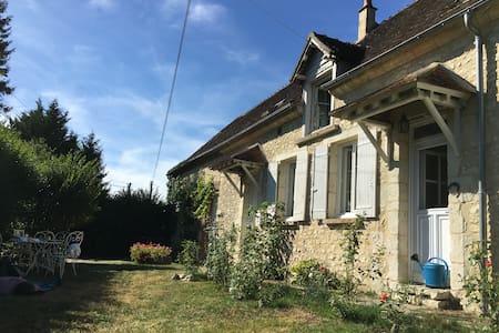 Maison familiale dans le Perche, 5 chb/8 adultes - Dorceau - Haus