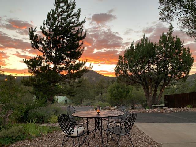 Prescott Suite at the base of Granite Mountain